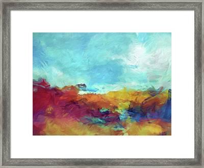 Landscape Expression Framed Print
