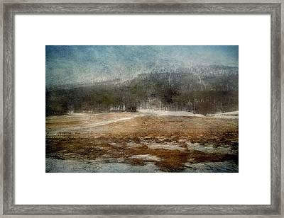 Landscape From Norway Framed Print by Vittorio Chiampan