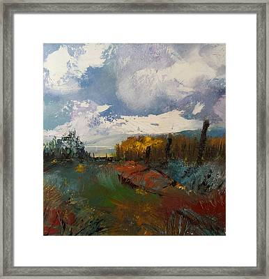 Landscape Impression Framed Print by Michele Carter