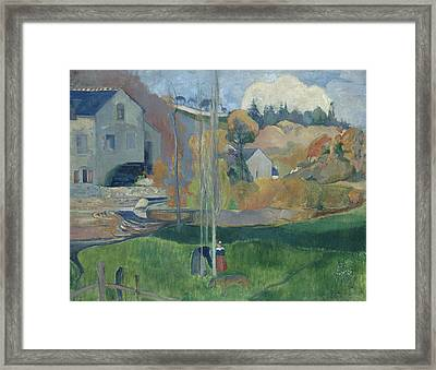 Landscape In Brittany, The David Mill Framed Print