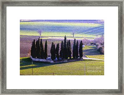 Framed Print featuring the photograph Landscape by Jean Bernard Roussilhe