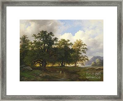 Landscape Framed Print by Celestial Images