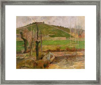 Landscape Near Pont Aven Framed Print