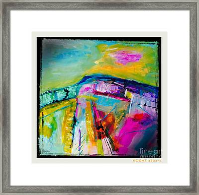 Landscape Of My Soul  Framed Print