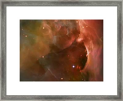 Landscape Orion Nebula Framed Print by Jennifer Rondinelli Reilly - Fine Art Photography
