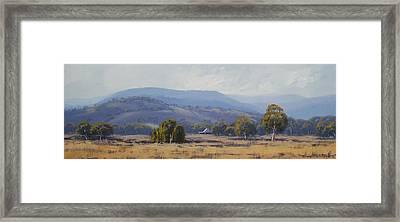 Landscape Paintings Framed Print by Graham Gercken