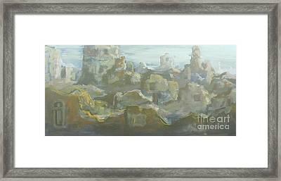 Landscape Framed Print by Leonardo Da Vinci