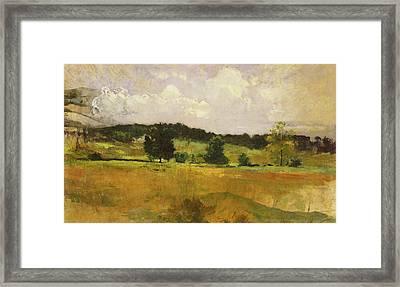 Landscape Study Framed Print