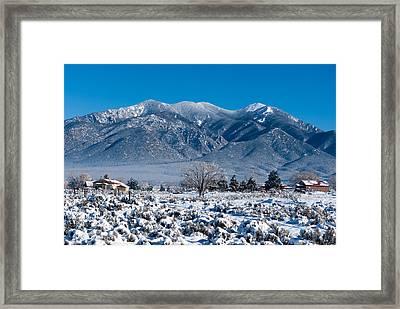 Landscape Taos Nm J10o Framed Print