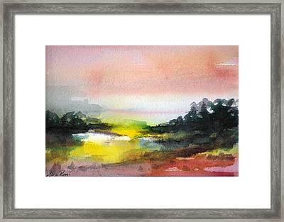 Landscape Vi Framed Print by Neva Rossi