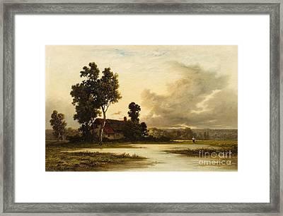 Landscape With A Cottage Framed Print