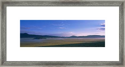 Landscape With Mountains Framed Print by Panoramic Images