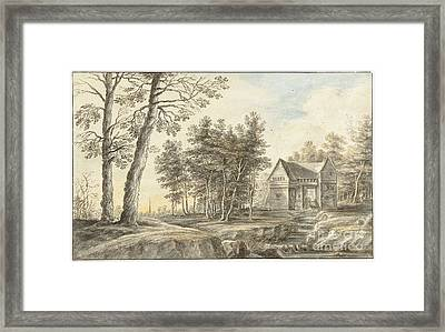 Landscape With Water Mill Framed Print