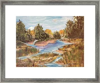 Landscape_1 Framed Print