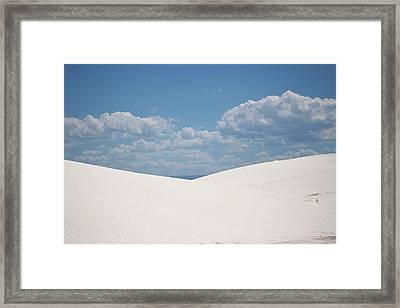 Landscapes Of White Sands 11 Framed Print