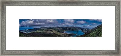 Landscapespanoramas007 Framed Print
