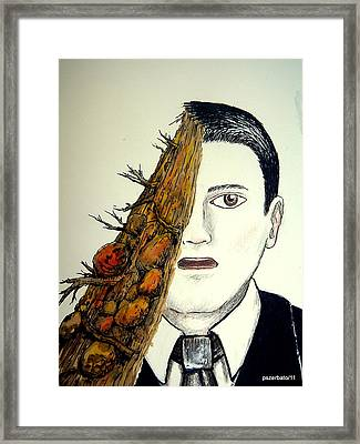 Landslides Of Old Prejudices Framed Print by Paulo Zerbato