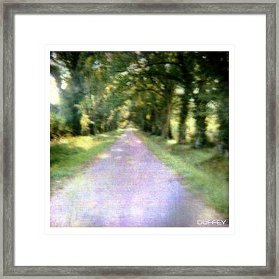 Lane 2 Framed Print