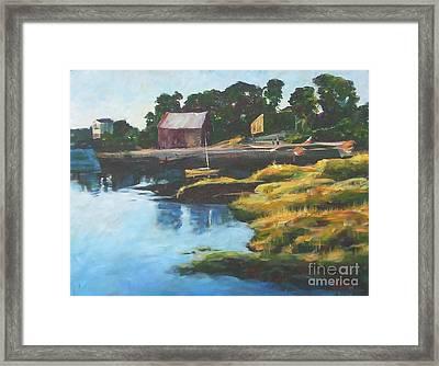 Lane's Cove Sunset Framed Print