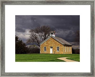 Lanesfield Spring Framed Print by Christopher McKenzie