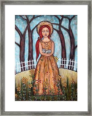 Laney Framed Print by Rain Ririn