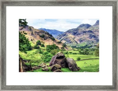 Langdale - Lake District Framed Print by Joana Kruse