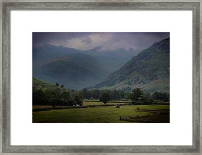 Langdale Valley Framed Print by Martin Newman