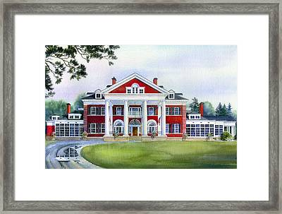 Langdon Hall Framed Print by Hanne Lore Koehler