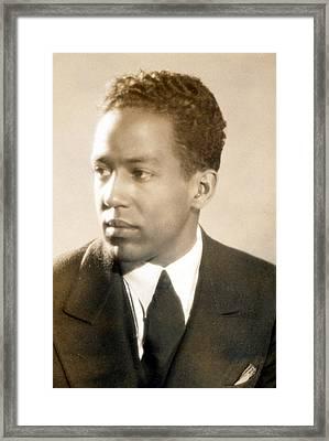 Langston Hughes Framed Print by Everett