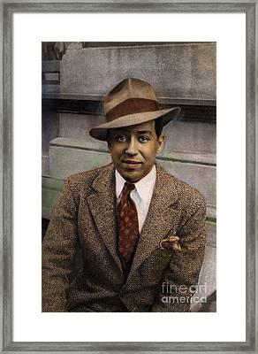 Langston Hughes Framed Print by Granger