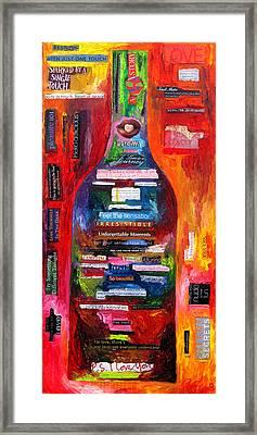 Language Of Love Framed Print by Patti Schermerhorn