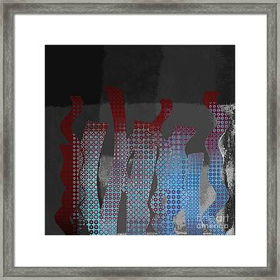 Languettes 02 - J122129076-f22b Framed Print by Variance Collections