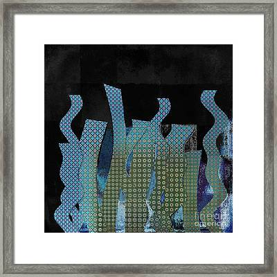 Languettes 02 - J122129164-f3 Framed Print by Variance Collections
