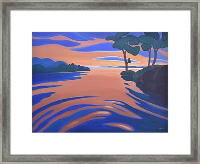 Languid Evening Framed Print