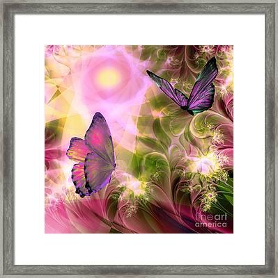 Languid Journeys Framed Print