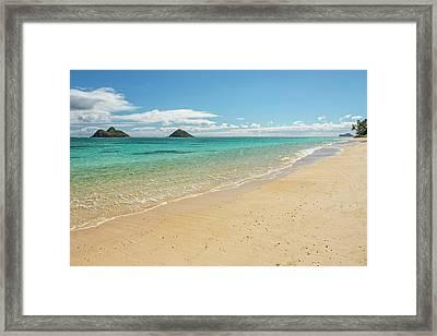 Lanikai Beach 4 - Oahu Hawaii Framed Print by Brian Harig