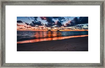 Lanikai Beach Framed Print