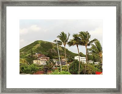 Lanikai Beach View Framed Print
