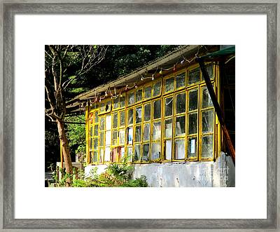 Framed Print featuring the photograph Lantau Island 46 by Randall Weidner