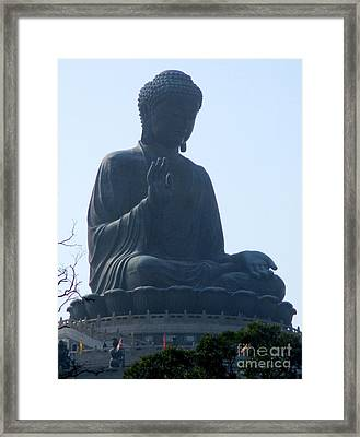 Framed Print featuring the photograph Lantau Island 49 by Randall Weidner