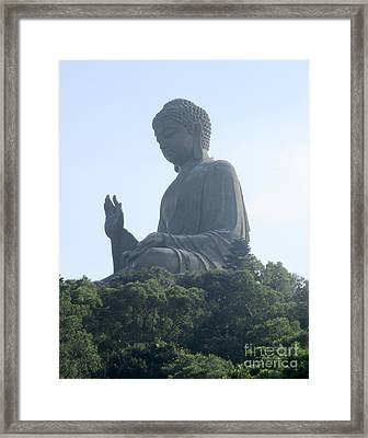 Framed Print featuring the photograph Lantau Island 50 by Randall Weidner
