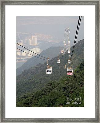 Framed Print featuring the photograph Lantau Island 53 by Randall Weidner