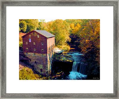 Lanterman's Mill Framed Print