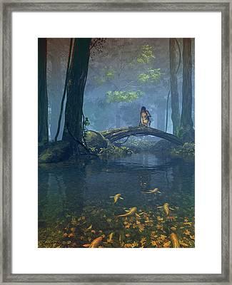 Lantern Bearer Framed Print