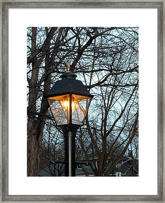 Lantern Framed Print
