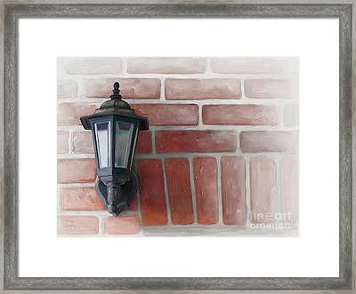 Framed Print featuring the painting Lantern by Ivana Westin