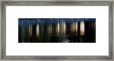 Framed Print featuring the photograph Lanterns by Kenneth Campbell