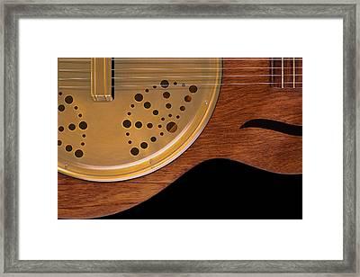 Lap Guitar I Framed Print by Mike McGlothlen