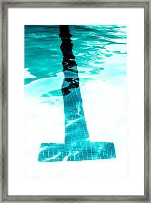 Lap Lane - Swim Framed Print