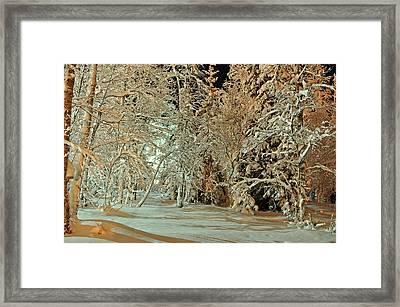 Laplandia Framed Print by Boris Shekhirev